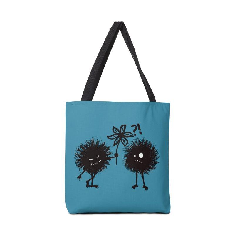 Kind Evil Bug Friends Accessories Bag by Boriana's Artist Shop