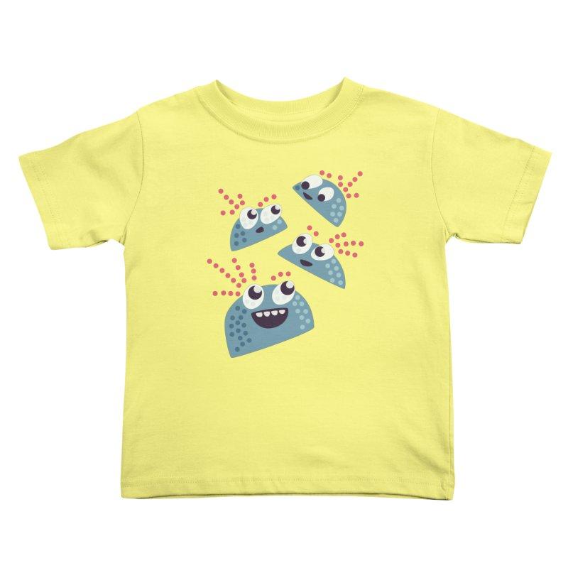 Kawaii Cute Candy Kids Toddler T-Shirt by Boriana's Artist Shop