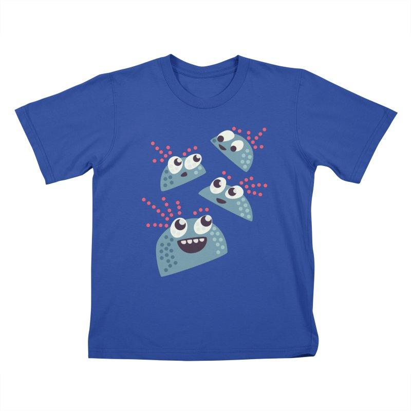 Kawaii Cute Candy Kids T-shirt by Boriana's Artist Shop
