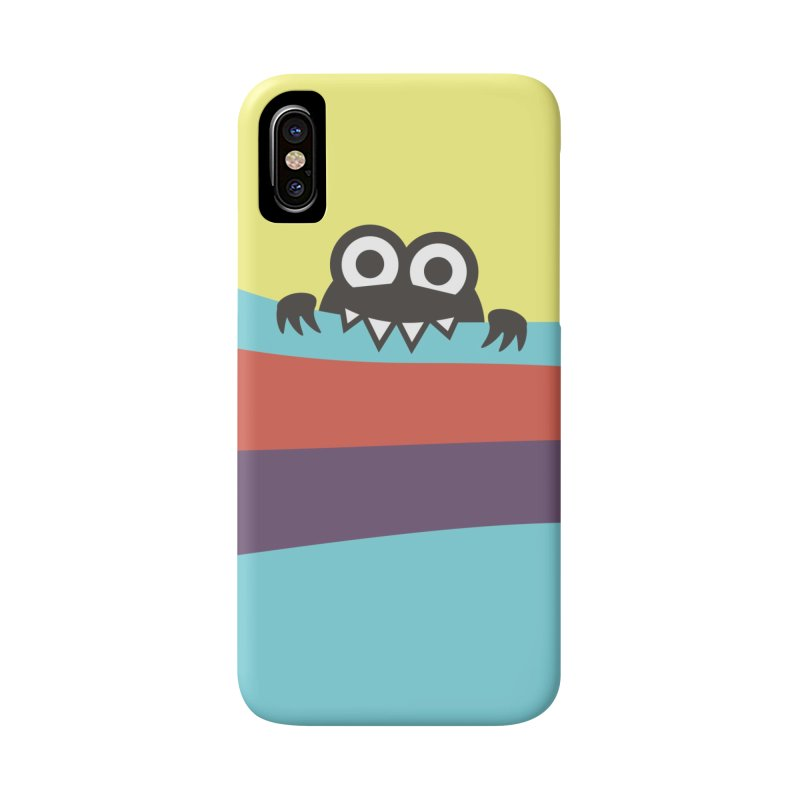Cute Bug Bites Colorful Stripes Accessories Phone Case by Boriana's Artist Shop