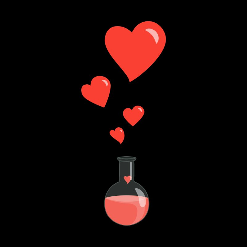 Love Potion Flask by Boriana's Artist Shop