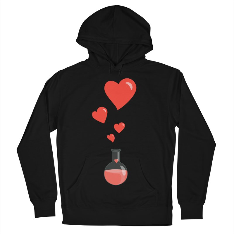 Love Potion Flask Men's Pullover Hoody by Boriana's Artist Shop