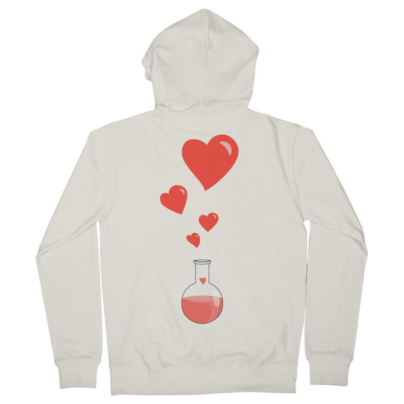 Love Potion Flask Women's Zip-Up Hoody by Boriana's Artist Shop