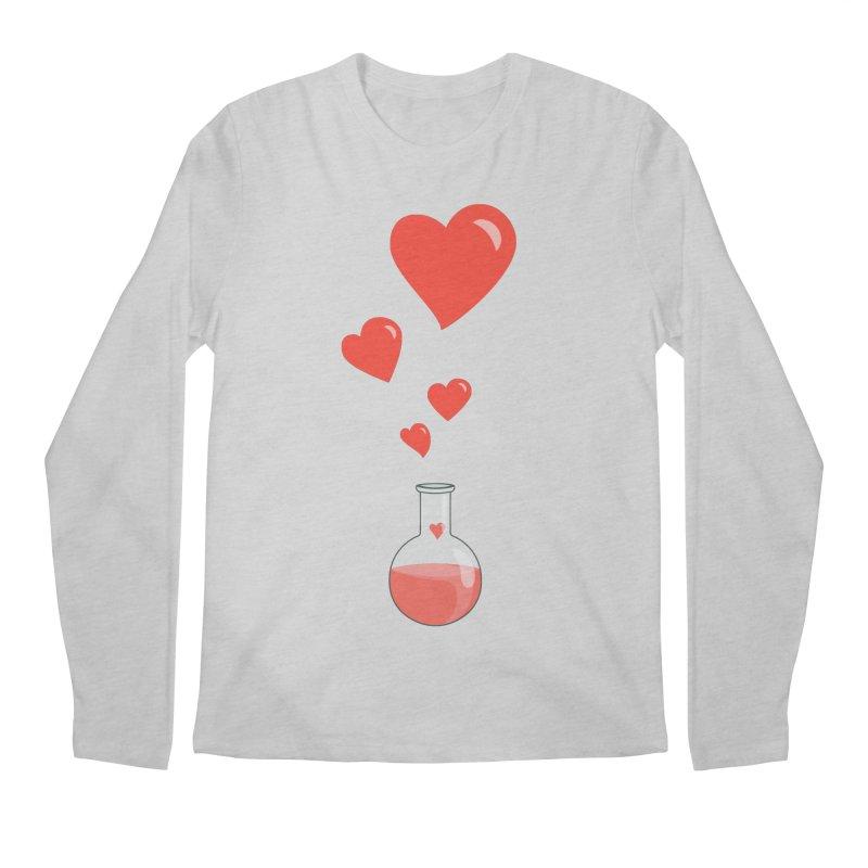 Love Potion Flask Men's Longsleeve T-Shirt by Boriana's Artist Shop