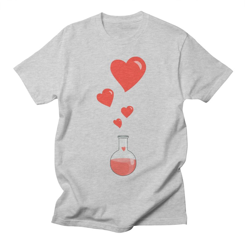 Love Potion Flask Men's T-shirt by Boriana's Artist Shop