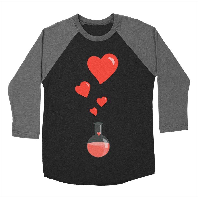 Love Potion Flask Men's Baseball Triblend T-Shirt by Boriana's Artist Shop
