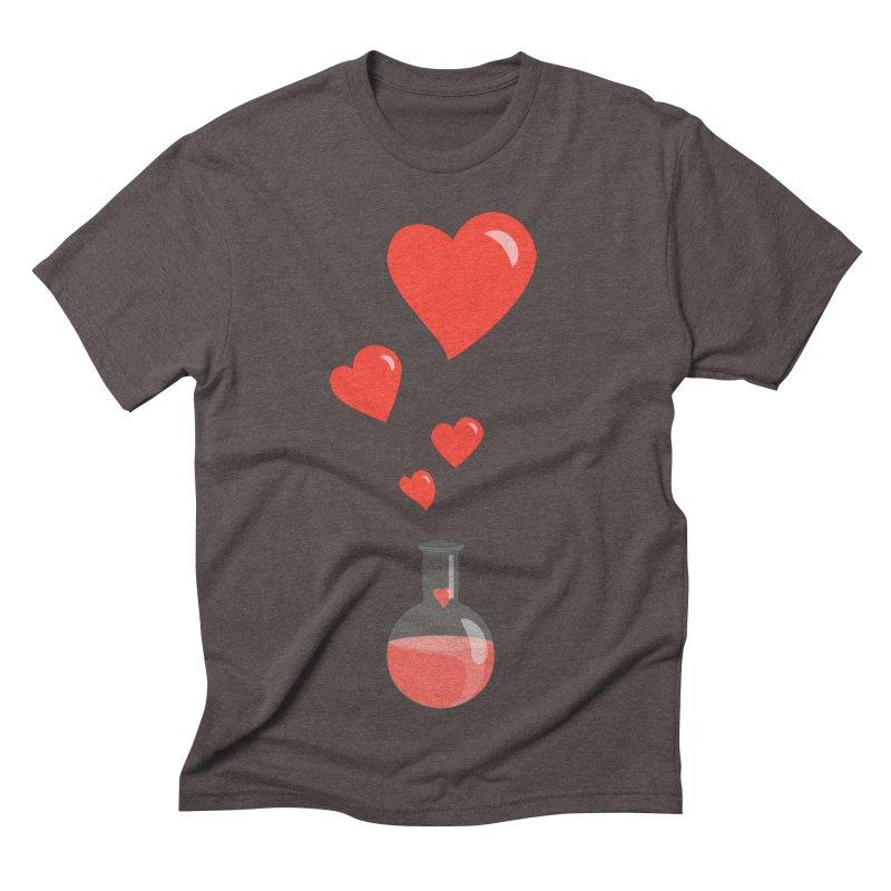 Love Potion Flask Men's Triblend T-shirt by Boriana's Artist Shop