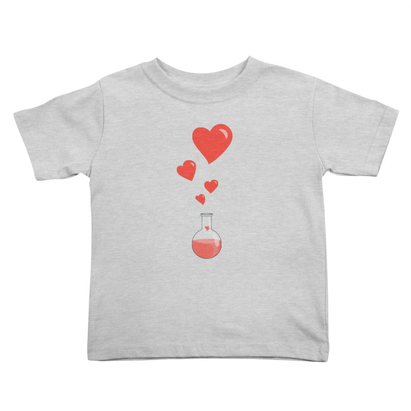 Love Potion Flask Kids Toddler T-Shirt by Boriana's Artist Shop