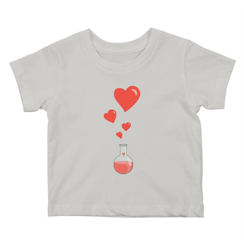 Love Potion Flask Kids Baby T-Shirt by Boriana's Artist Shop