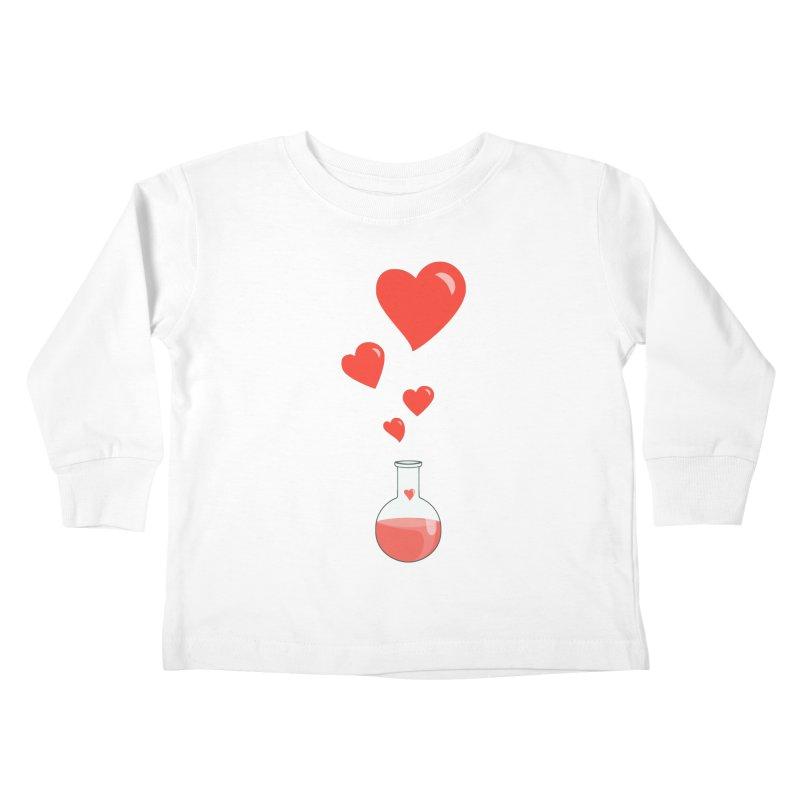 Love Potion Flask Kids Toddler Longsleeve T-Shirt by Boriana's Artist Shop