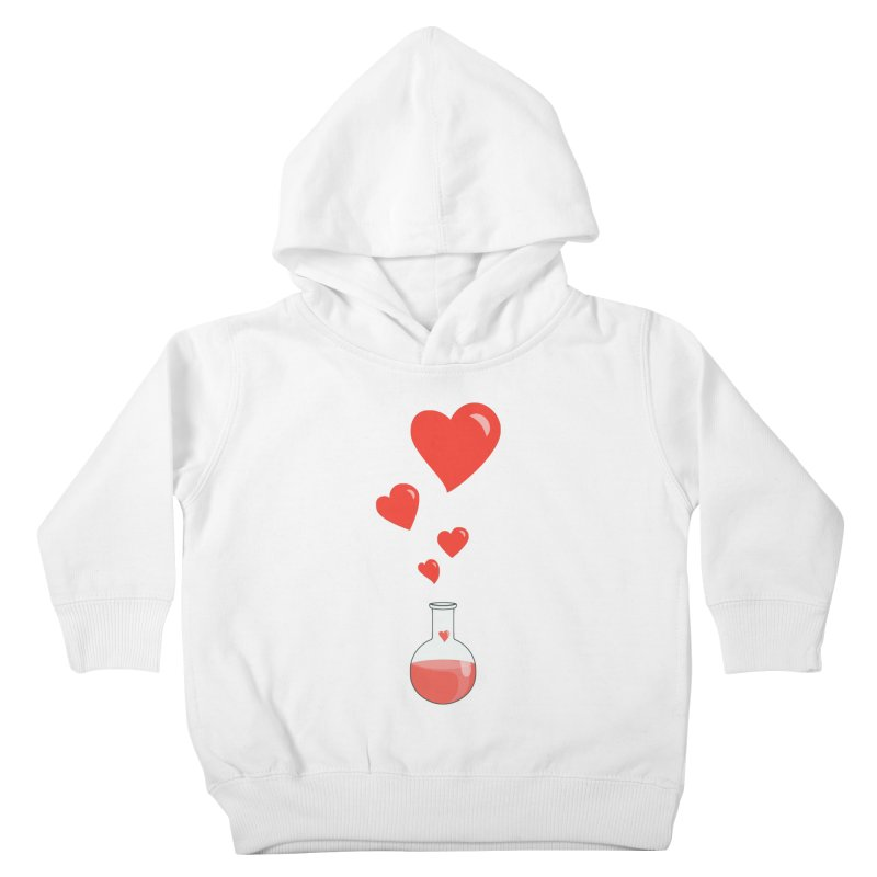 Love Potion Flask Kids Toddler Pullover Hoody by Boriana's Artist Shop