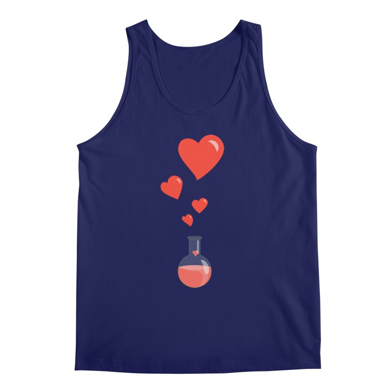 Love Potion Flask Men's Tank by Boriana's Artist Shop