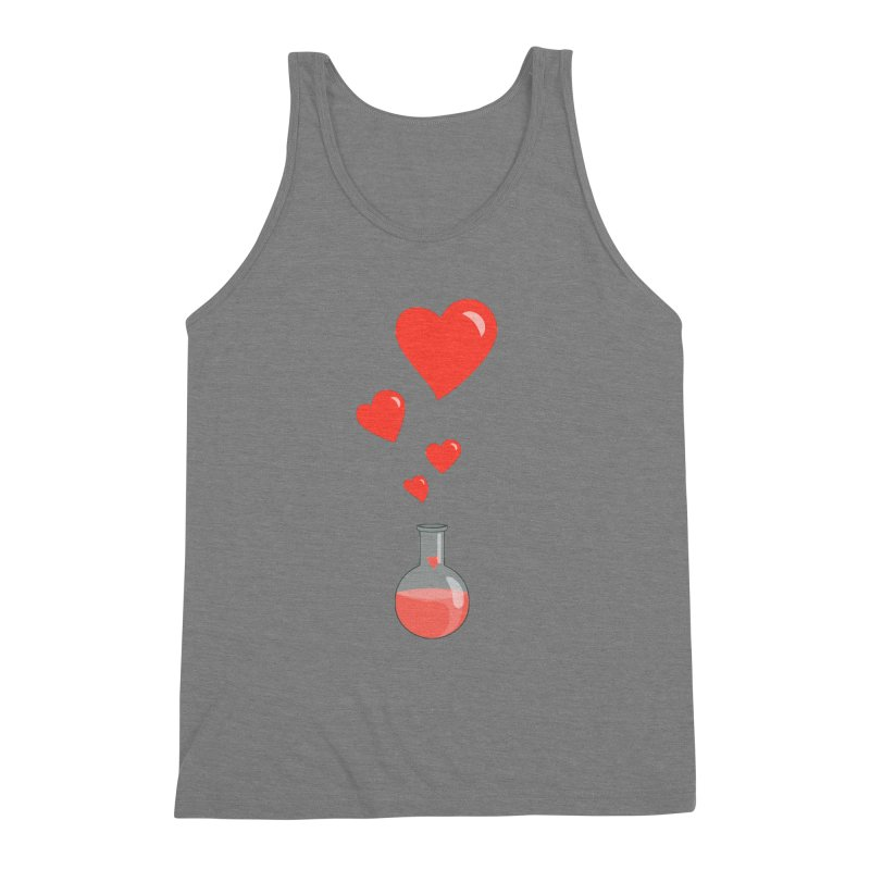 Love Potion Flask Men's Triblend Tank by Boriana's Artist Shop