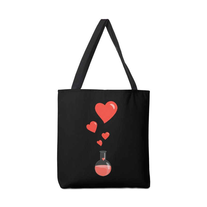 Love Potion Flask Accessories Bag by Boriana's Artist Shop