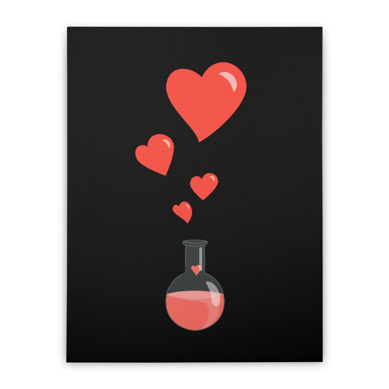 Love Potion Flask Home Stretched Canvas by Boriana's Artist Shop