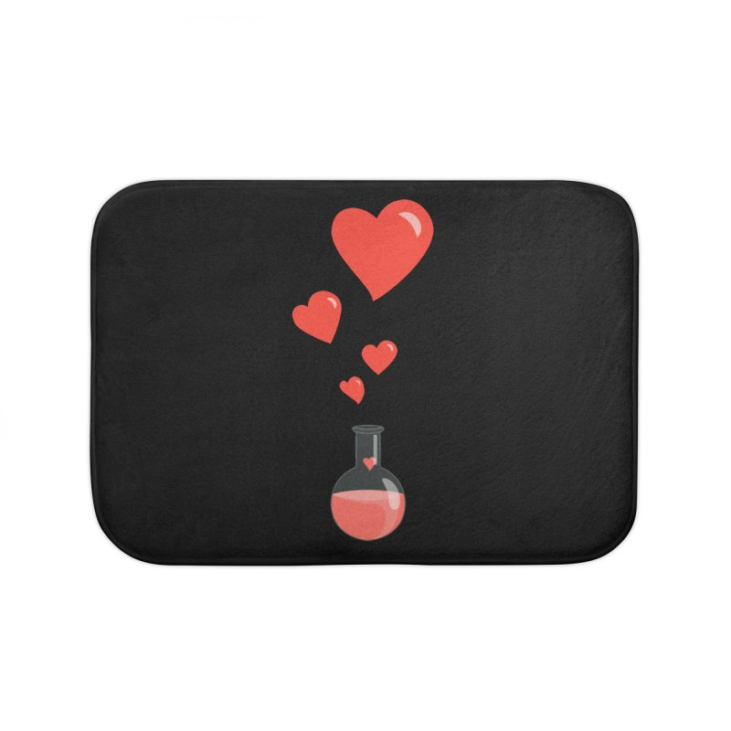 Love Potion Flask Home Bath Mat by Boriana's Artist Shop