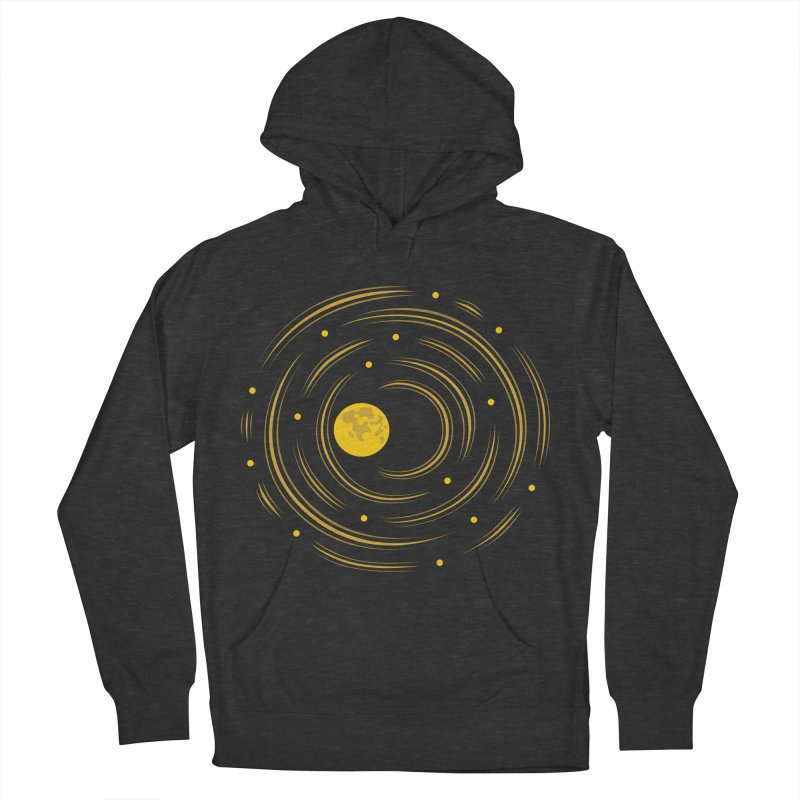 Abstract Moon And Stars Dream Women's Pullover Hoody by Boriana's Artist Shop
