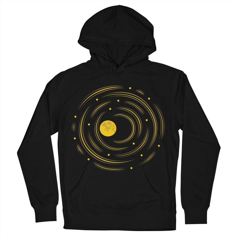 Abstract Moon And Stars Dream Men's Pullover Hoody by Boriana's Artist Shop