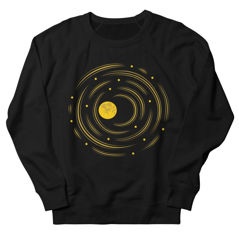 Abstract Moon And Stars Dream Women's Sweatshirt by Boriana's Artist Shop