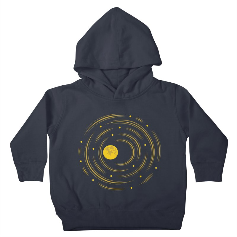 Abstract Moon And Stars Dream Kids Toddler Pullover Hoody by Boriana's Artist Shop