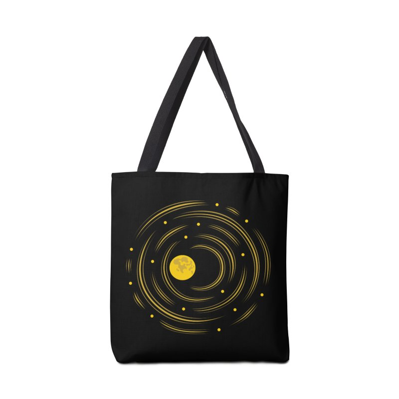 Abstract Moon And Stars Dream Accessories Bag by Boriana's Artist Shop