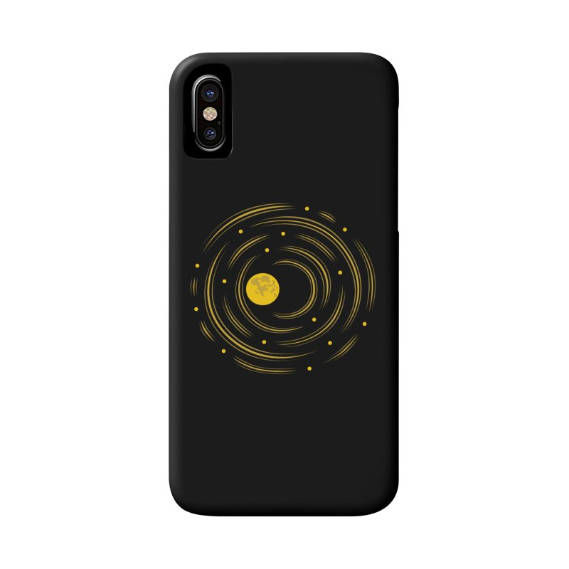 Abstract Moon And Stars Dream Accessories Phone Case by Boriana's Artist Shop