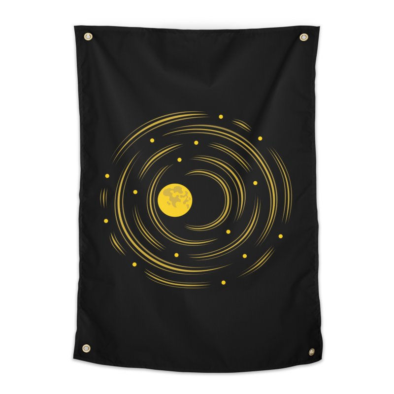 Abstract Moon And Stars Dream Home Tapestry by Boriana's Artist Shop