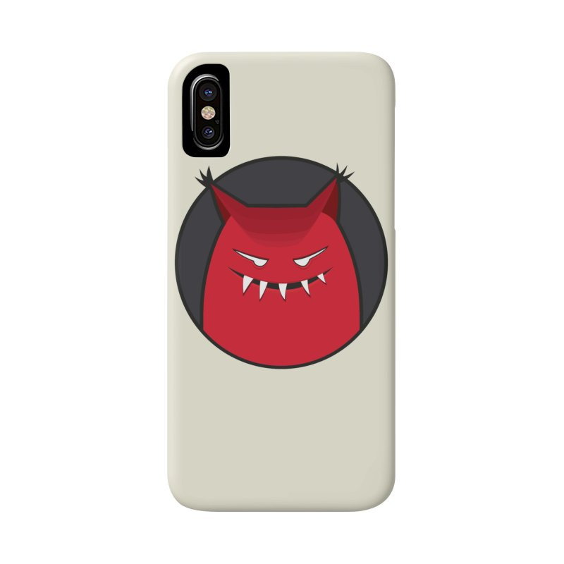 Evil Monster With Pointy Ears Accessories Phone Case by Boriana's Artist Shop