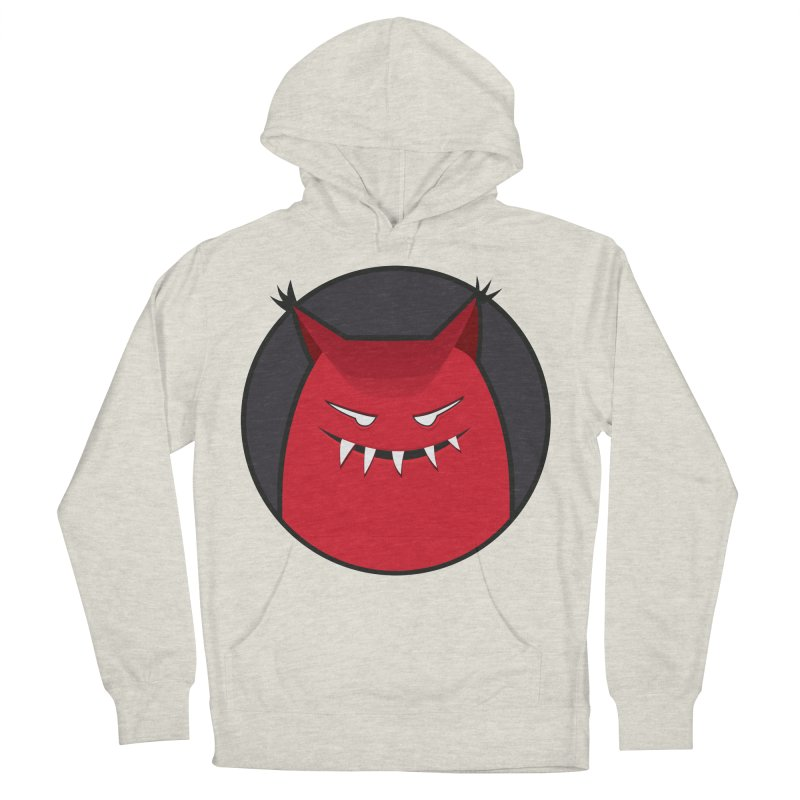 Evil Monster With Pointy Ears Men's Pullover Hoody by Boriana's Artist Shop