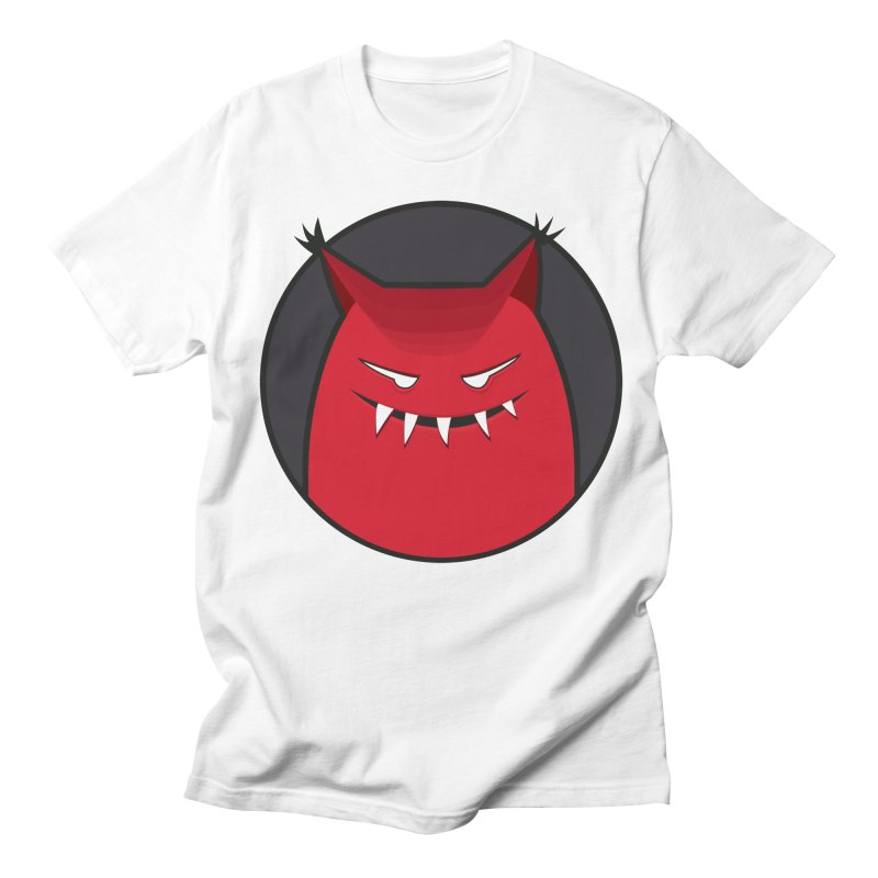 Evil Monster With Pointy Ears Women's Unisex T-Shirt by Boriana's Artist Shop