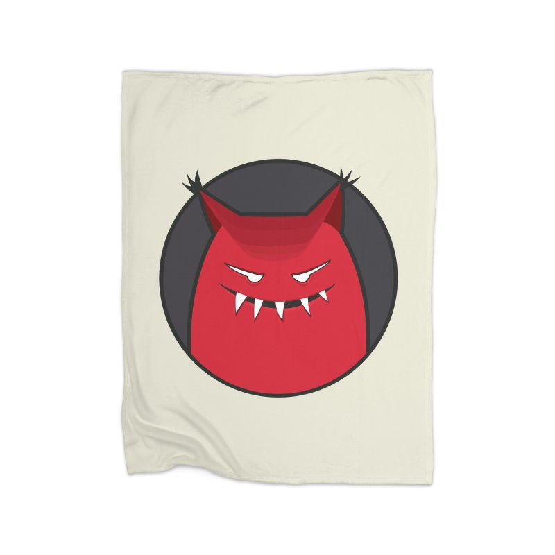 Evil Monster With Pointy Ears Home Blanket by Boriana's Artist Shop
