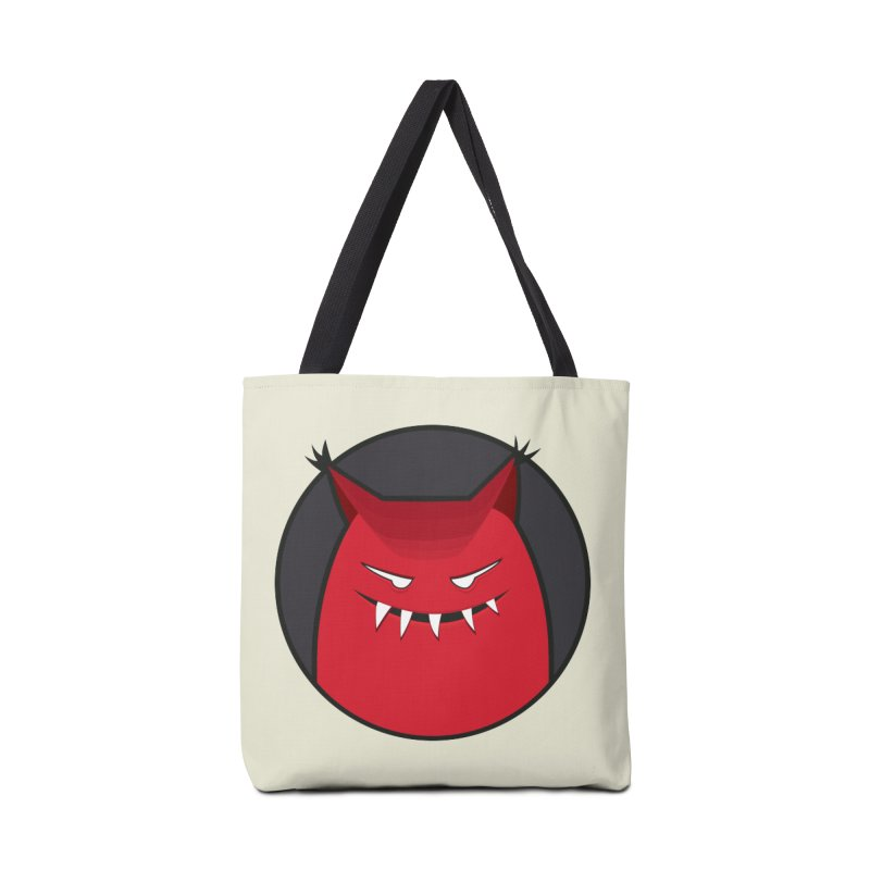 Evil Monster With Pointy Ears Accessories Bag by Boriana's Artist Shop