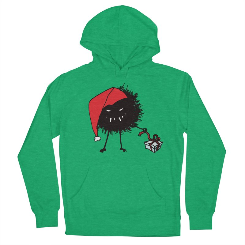 Evil Bug Unpacking Christmas Present Women's Pullover Hoody by Boriana's Artist Shop