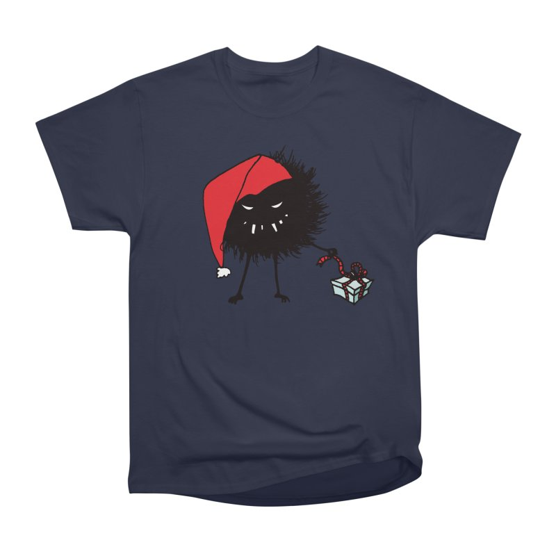 Evil Bug Unpacking Christmas Present Men's Classic T-Shirt by Boriana's Artist Shop