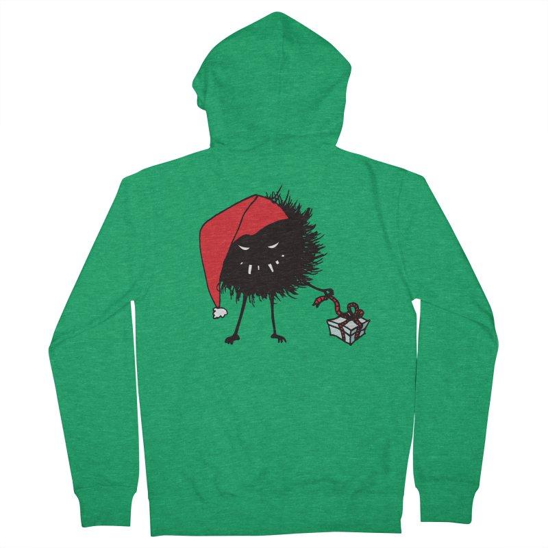 Evil Bug Unpacking Christmas Present Men's Zip-Up Hoody by Boriana's Artist Shop