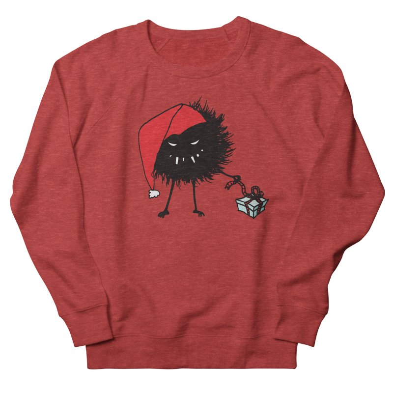 Evil Bug Unpacking Christmas Present Men's Sweatshirt by Boriana's Artist Shop