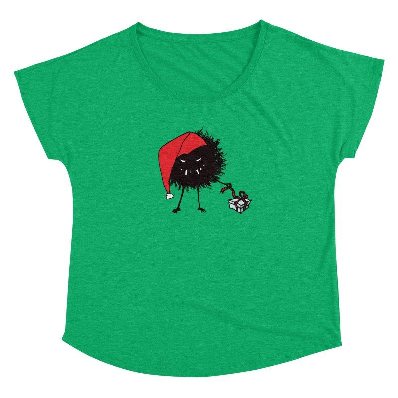 Evil Bug Unpacking Christmas Present Women's Dolman by Boriana's Artist Shop