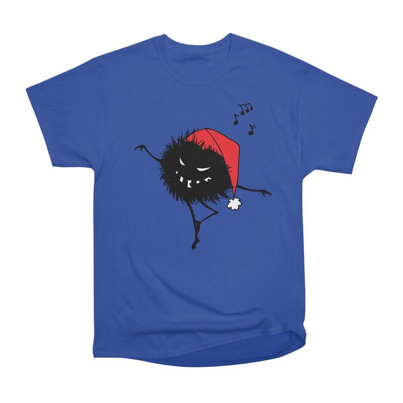 Dancing Evil Christmas Bug Women's Classic Unisex T-Shirt by Boriana's Artist Shop