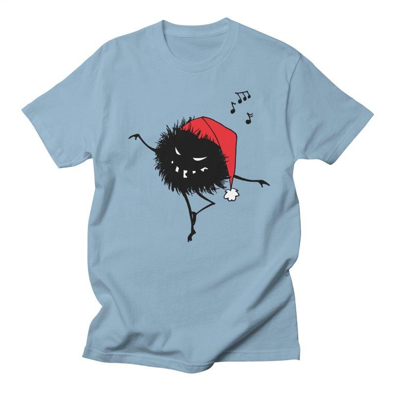 Dancing Evil Christmas Bug Women's Regular Unisex T-Shirt by Boriana's Artist Shop