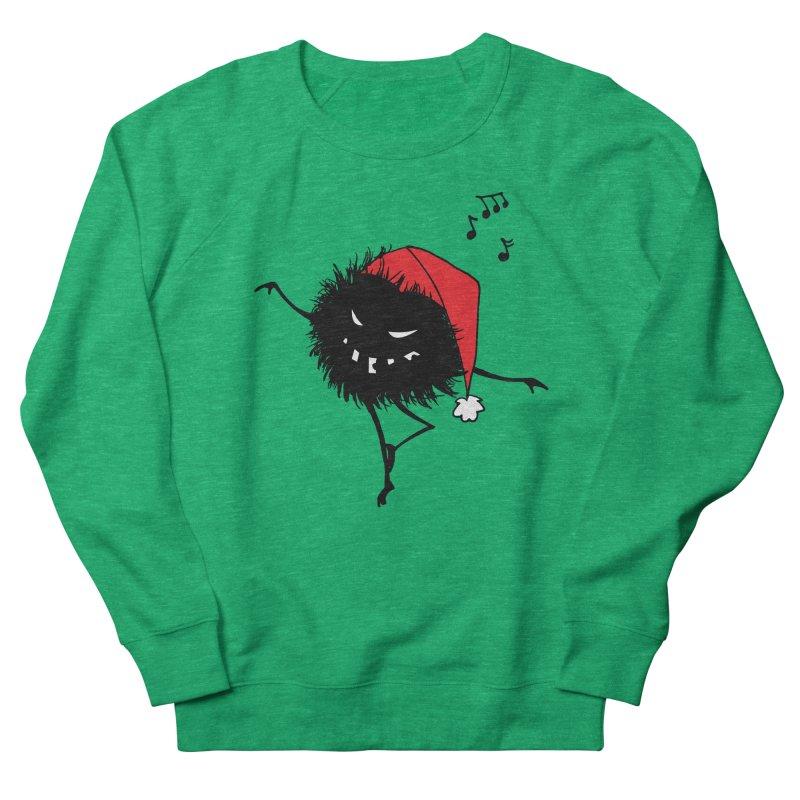 Dancing Evil Christmas Bug Women's Sweatshirt by Boriana's Artist Shop