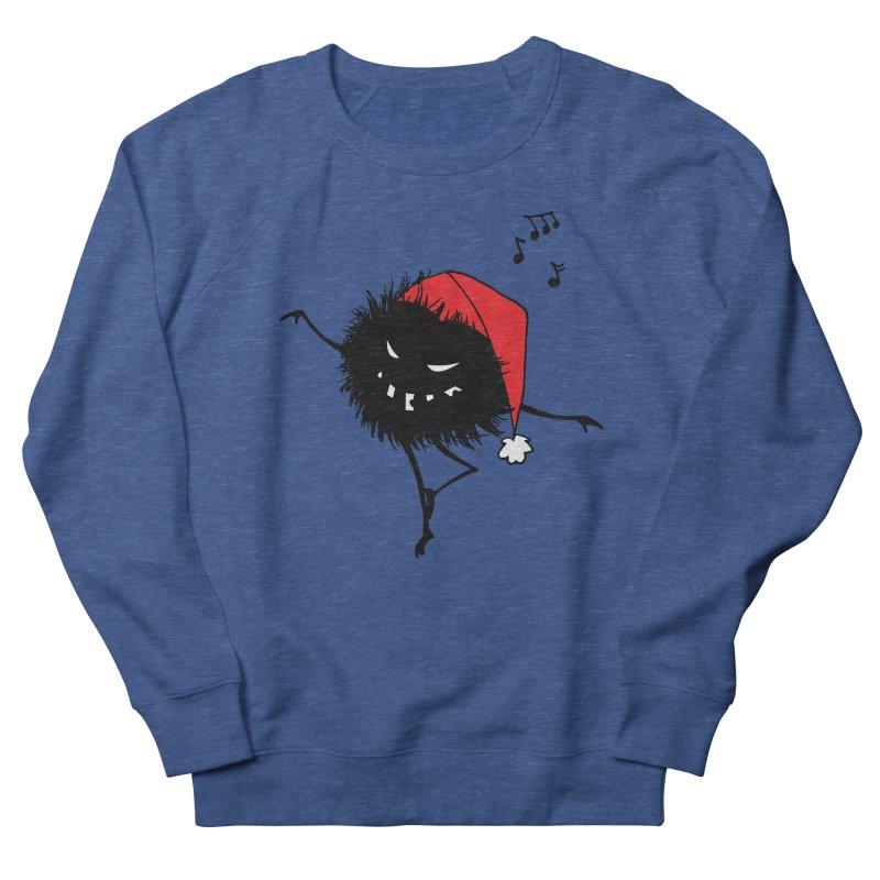 Dancing Evil Christmas Bug Men's Sweatshirt by Boriana's Artist Shop