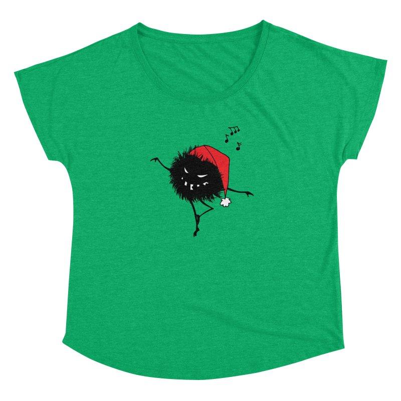 Dancing Evil Christmas Bug Women's Dolman by Boriana's Artist Shop