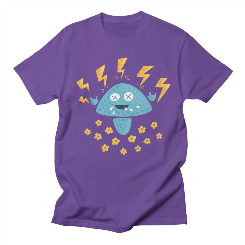 Hard Rock Mushroom Women's Unisex T-Shirt by Boriana's Artist Shop