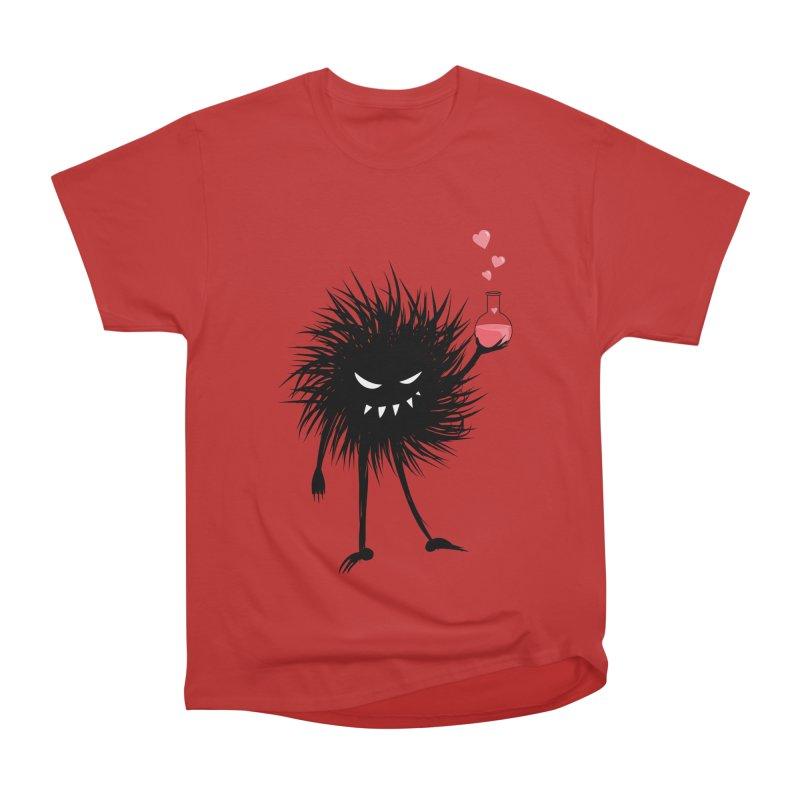 Evil Bug Chemist With Love Potion Men's Heavyweight T-Shirt by Boriana's Artist Shop