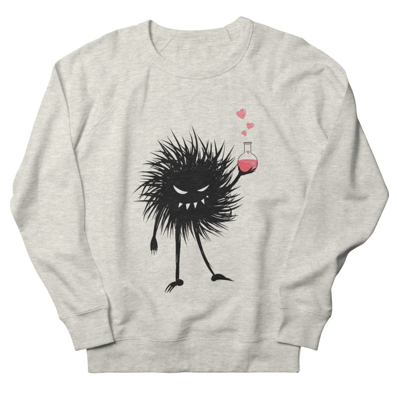 Evil Bug Chemist With Love Potion Men's French Terry Sweatshirt by Boriana's Artist Shop