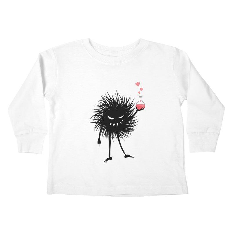 Evil Bug Chemist With Love Potion Kids Toddler Longsleeve T-Shirt by Boriana's Artist Shop