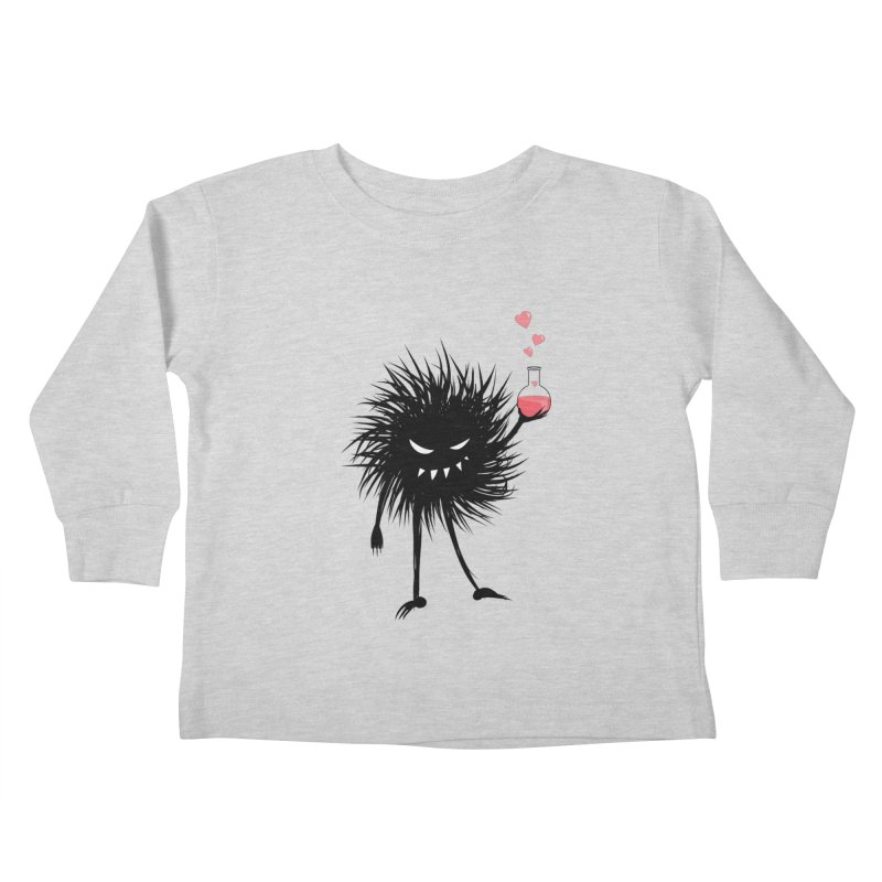 Evil Bug Chemist With Love Potion Kids Toddler Longsleeve T-Shirt by Boriana's Artist Shop