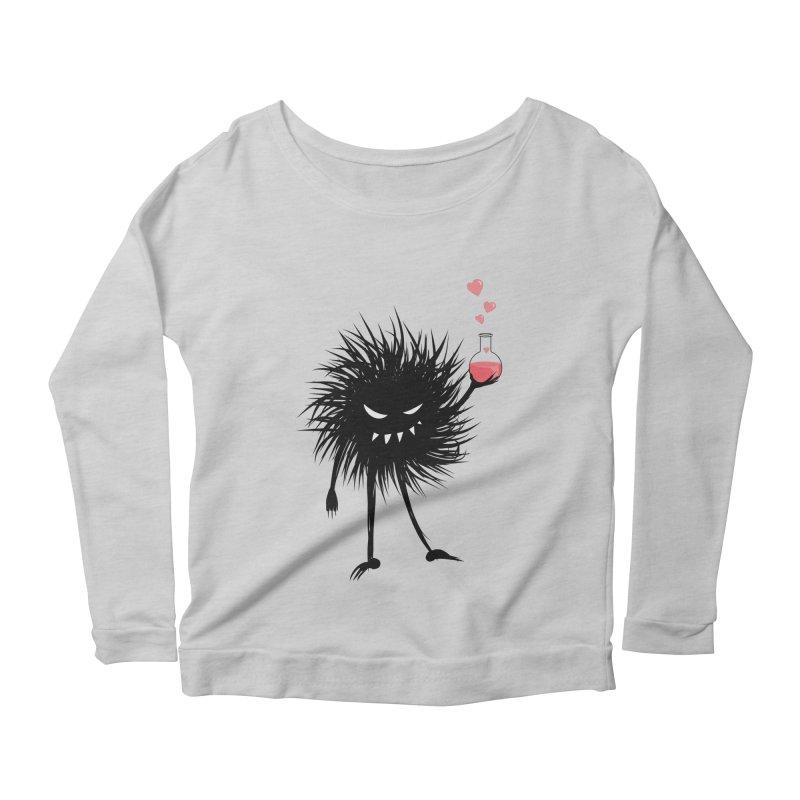Evil Bug Chemist With Love Potion Women's Longsleeve Scoopneck  by Boriana's Artist Shop