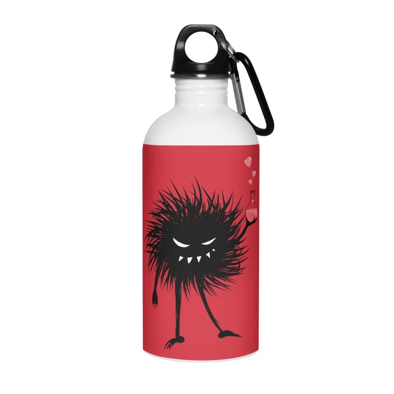 Evil Bug Chemist With Love Potion Accessories Water Bottle by Boriana's Artist Shop