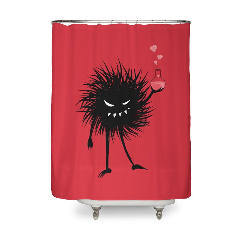 Evil Bug Chemist With Love Potion Home Shower Curtain by Boriana's Artist Shop